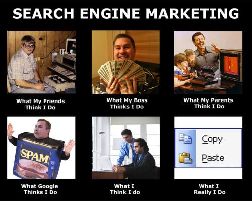 Search Engine Marketing Meme