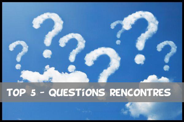 questions de site de rencontre