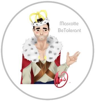 Mascotte BeTolerant