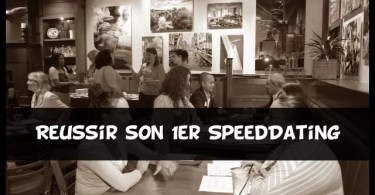 reussir au speed dating
