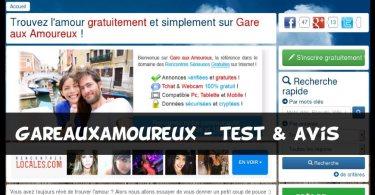 GareAuxAmoureux - Test & Avis