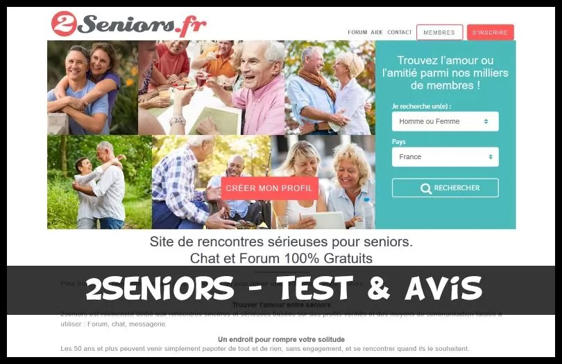 2seniors - Test & Avis