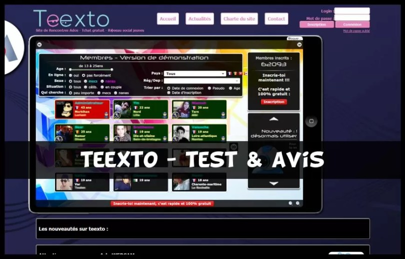 Teexto - Test & Avis