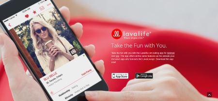 Lavalife - Application et Version Mobile