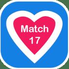 17 Match ou France Rencontre proximité - LOGO