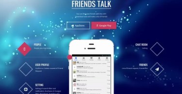 Friends Talk App - Test & Avis