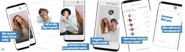wingman rencontre - aperci application mobile