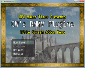 Title Screen Add-Ons Plugin (Updated Version)