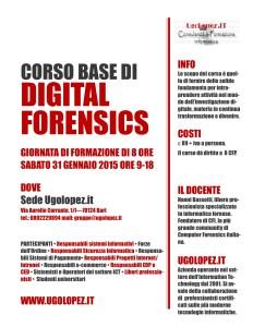 Corso Digital Forensics