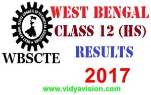 WBCHSE Class 12 Results 2017