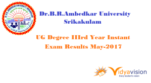 dr ambedkar ug 3rd year instant results 2017