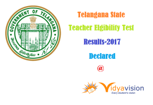TSTET Results 2017