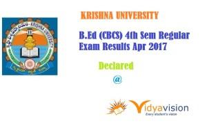 KRU-B.Ed-CBCS Results-2017