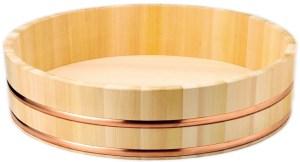 Hangiri - drewniana miska do ryżu 42 cm x 10 cm Wasabi Sushi Shop Wrocław produkty i akcesoria do sushi i kuchni orientalnej