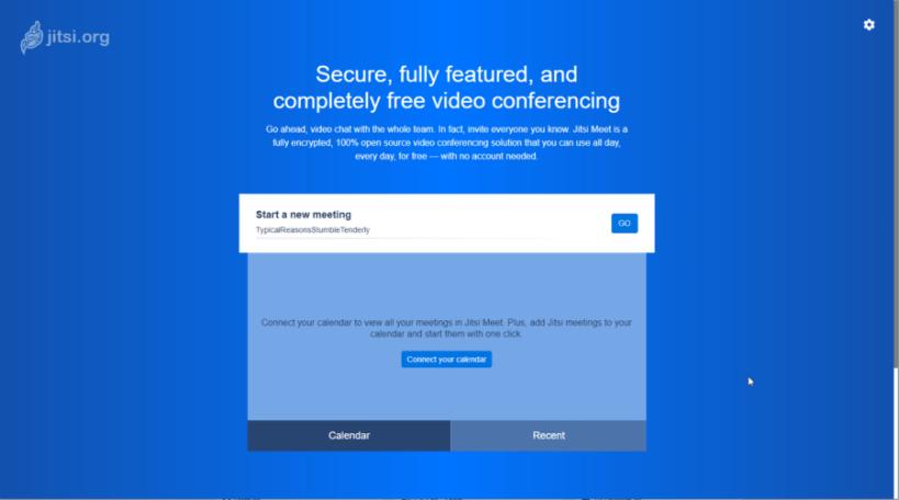 Jitzi-Online-Meetings and Desktop Sharin