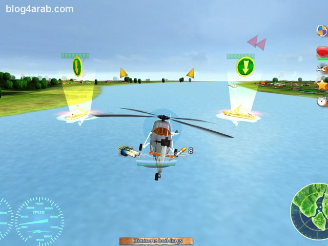 تحميل لعبة حرب طائرات الهليكوبتر المدمرة للكمبيوتر Helicopter Wars
