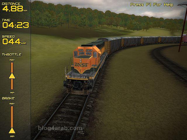 تحميل لعبة Freight Train Simulator قيادة القطار من الداخل مجانا