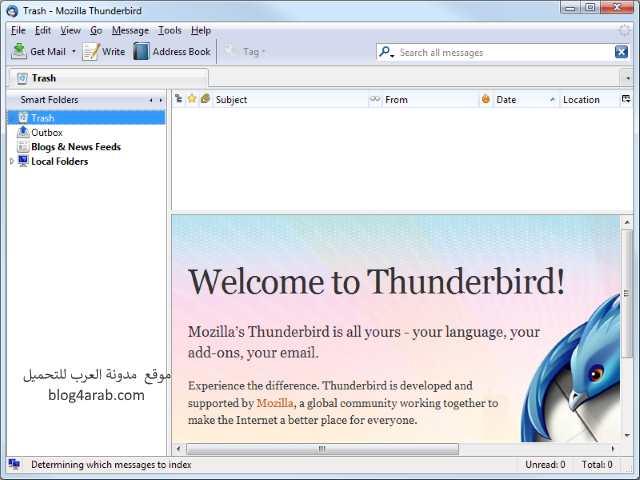 تحميل افضل برنامج لتنظيم حسابك في بريدك الالكتروني Mozilla Thunderbird