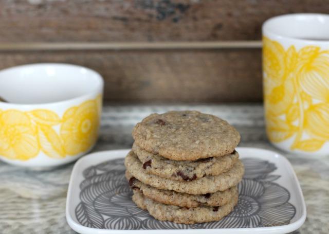 4more vegane Frühstückskekse mit Haferflocken und Schokostückchen  vegan breakfastcookies 4b