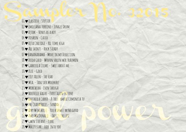 4more Sampler 32015 girl power