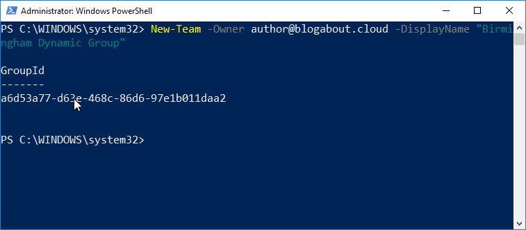 Microsoft Teams PowerShell Module Updates (Version 0.9.6 now available)
