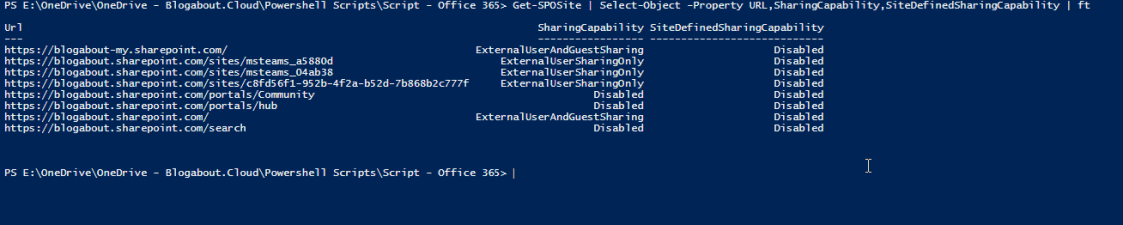 PowerShell – How to format your PowerShell output into a table using Format-Table
