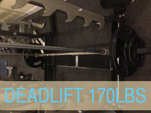 Deadlifting 170lbs