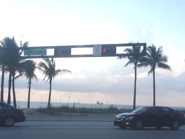 Fort Lauderdale Beach Running Route