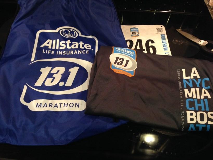 packet for fort lauderdale half marathon