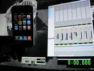 El iPhone, ¿nueva herramienta del Pro Tools?
