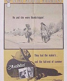 Amblin, primer corto de Spielberg en 35mm
