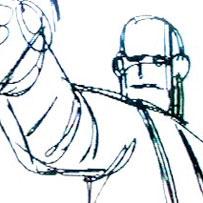 En línea storyboard animado de 'Shoot' Em Up'