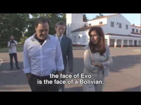 Oliver Stone presenta el trailer de su documental sobre Chávez