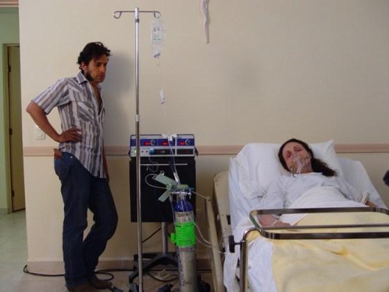 Bichir y su madre, Maricruz Nájera
