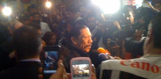 Danny Trejo estrena Machete en Morelia