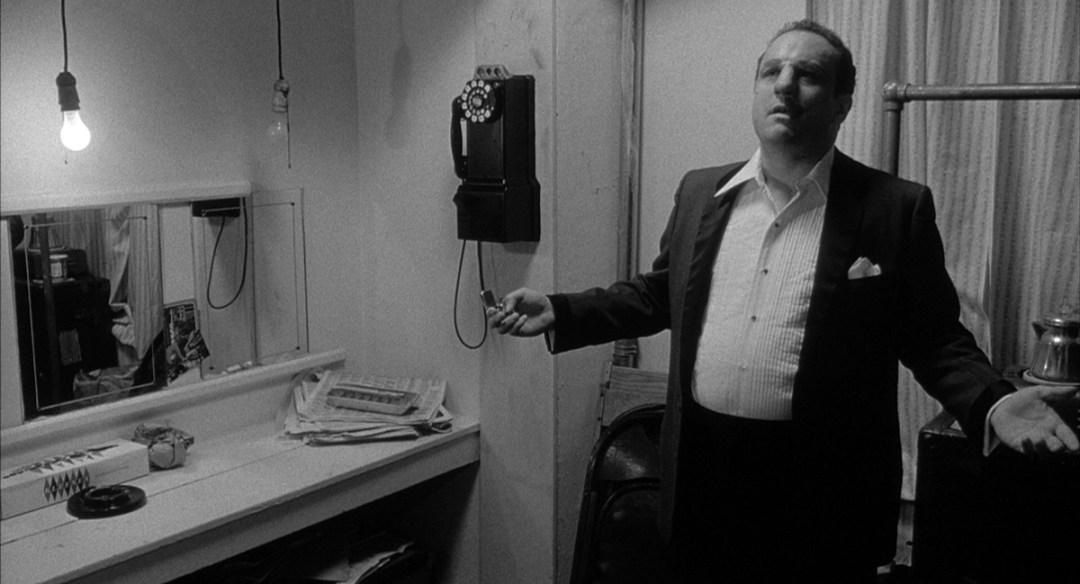 Jake LaMotta (Robert de Niro), reconciliado consigo mismo, en Toro Salvaje
