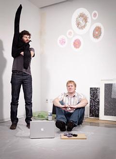 Ben Fry y Casey Reas, creadores de Processing