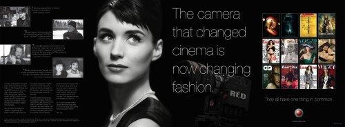 El anuncio de Red, con Rooney Mara y David Fincher