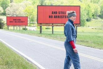 Frances McDormand y sus 3 anuncios por un crimen, en Three billboards outside Ebbing, Missouri