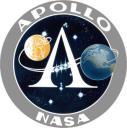 """Logo del programma spaziale americano """"Apollo"""" (1961-1975)"""