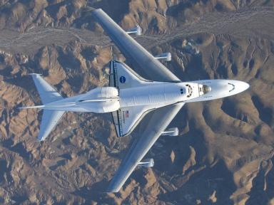 Trasporto aereo dello Shuttle (credit: nasa.gov - Carla Thomas)