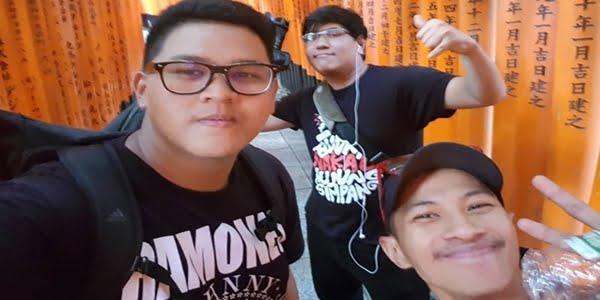 Tiga Anak Muda Malaysia Lagak Samseng Di Osaka