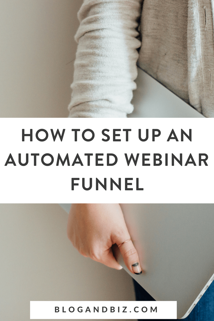 How to Do an Automated Webinar Funnel