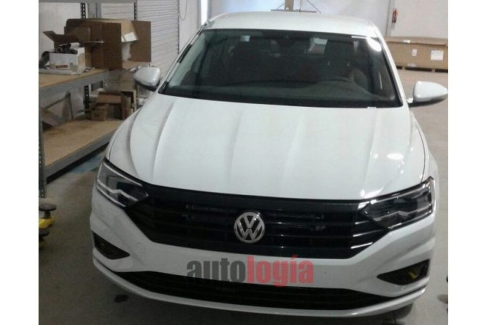 Flagra do Volkswagen Jetta 2018