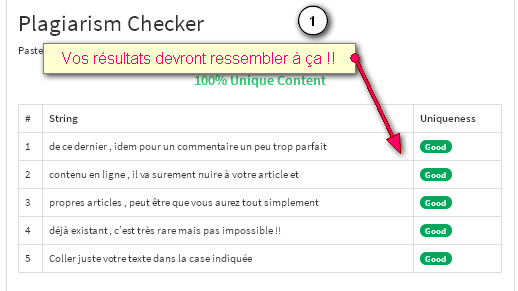 Free tool to check copied texts