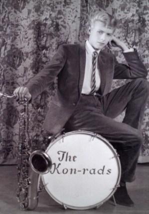 (Copyright - David Bowie, The Kon-Rads (1962) MIS / Divulgação - The David Bowie Archive 2012 © V&A Images)