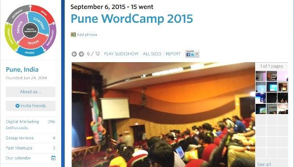 Pune WordCamp Photos