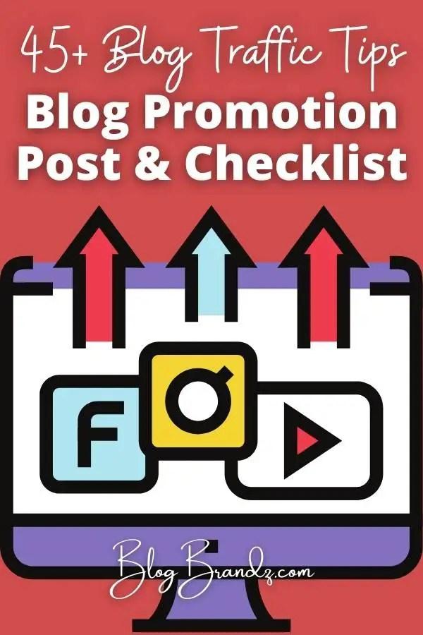 Blog Promotion Post