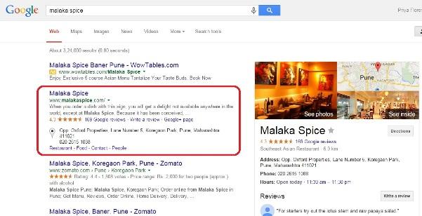 Malaka Spice Listing
