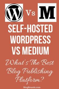 Self-Hosted WordPress Vs Medium – What's The Best Blog Publishing Platform